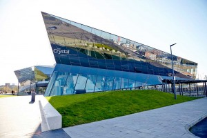 full exterior of the crystal london by airey spaces