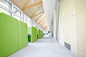 the living planet centre daylight office working space in WWF building by Airey Spaces