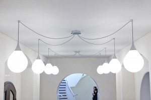 modern lighting in tate britain with people by staircase by airey spaces