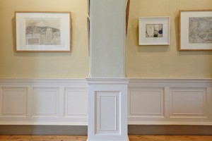 traditional gallery room with painting at Pallant House Gallery by Airey Spaces