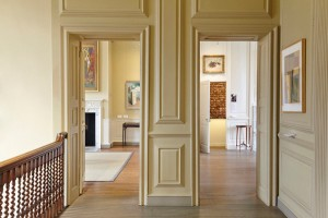 traditional gallery room with artwork at Pallant House Gallery by Airey Spaces
