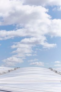 breathable roof membrane St Thomas hospital by Airey Spaces