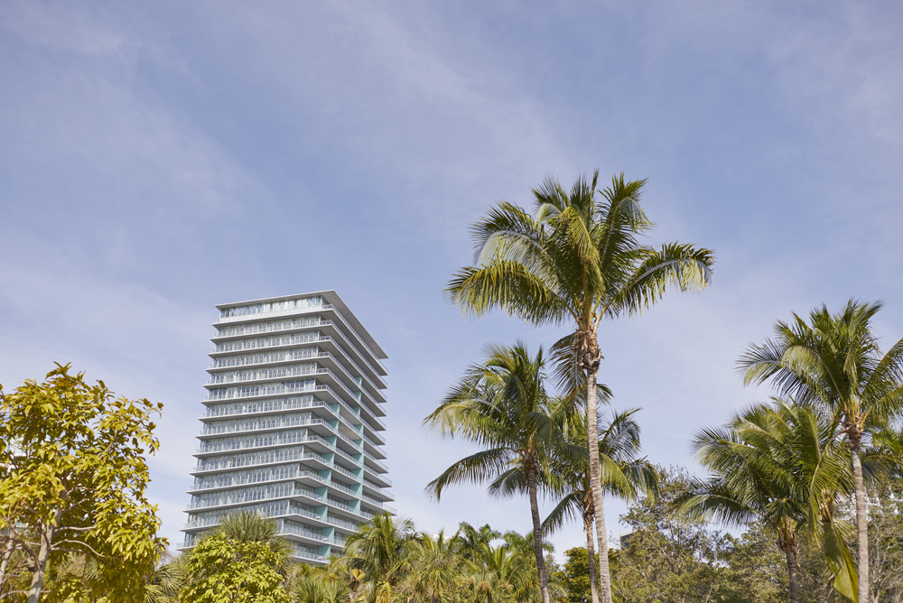 the twist of new modern apartment buildings in Coconut Grove by Airey Spaces