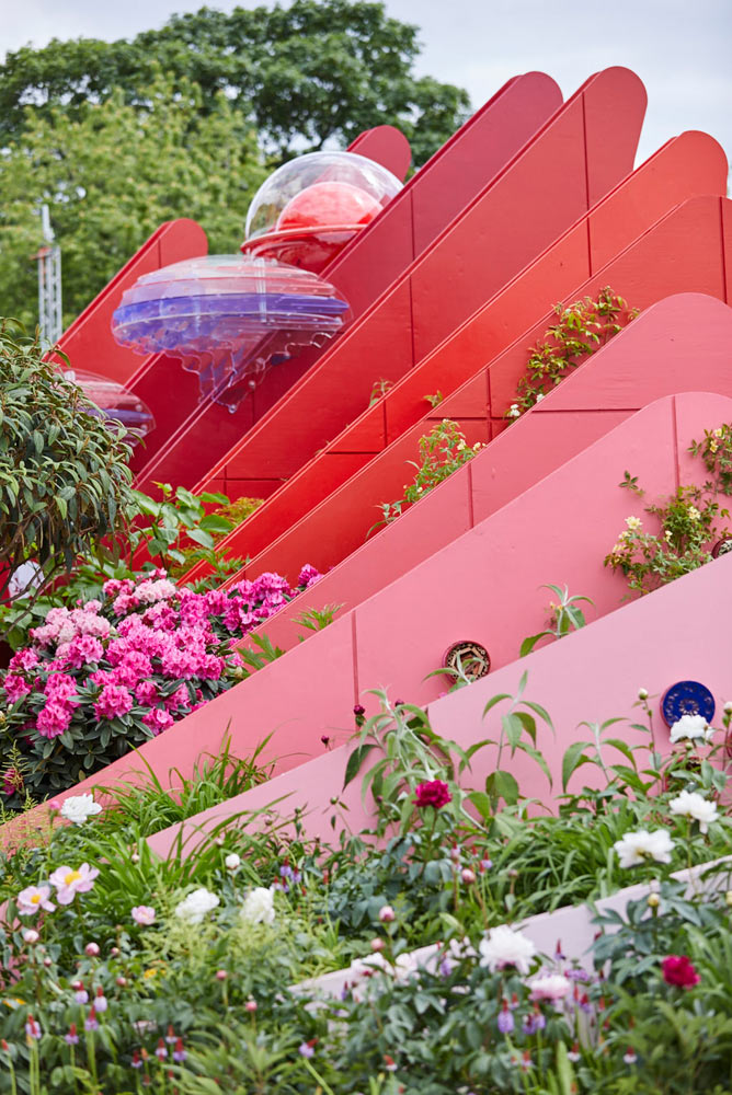 Chetwoods Architects garden at RHS Chelsea 2017 by Airey Spaces